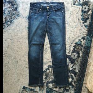 AEO size 10 short Skinny jeans